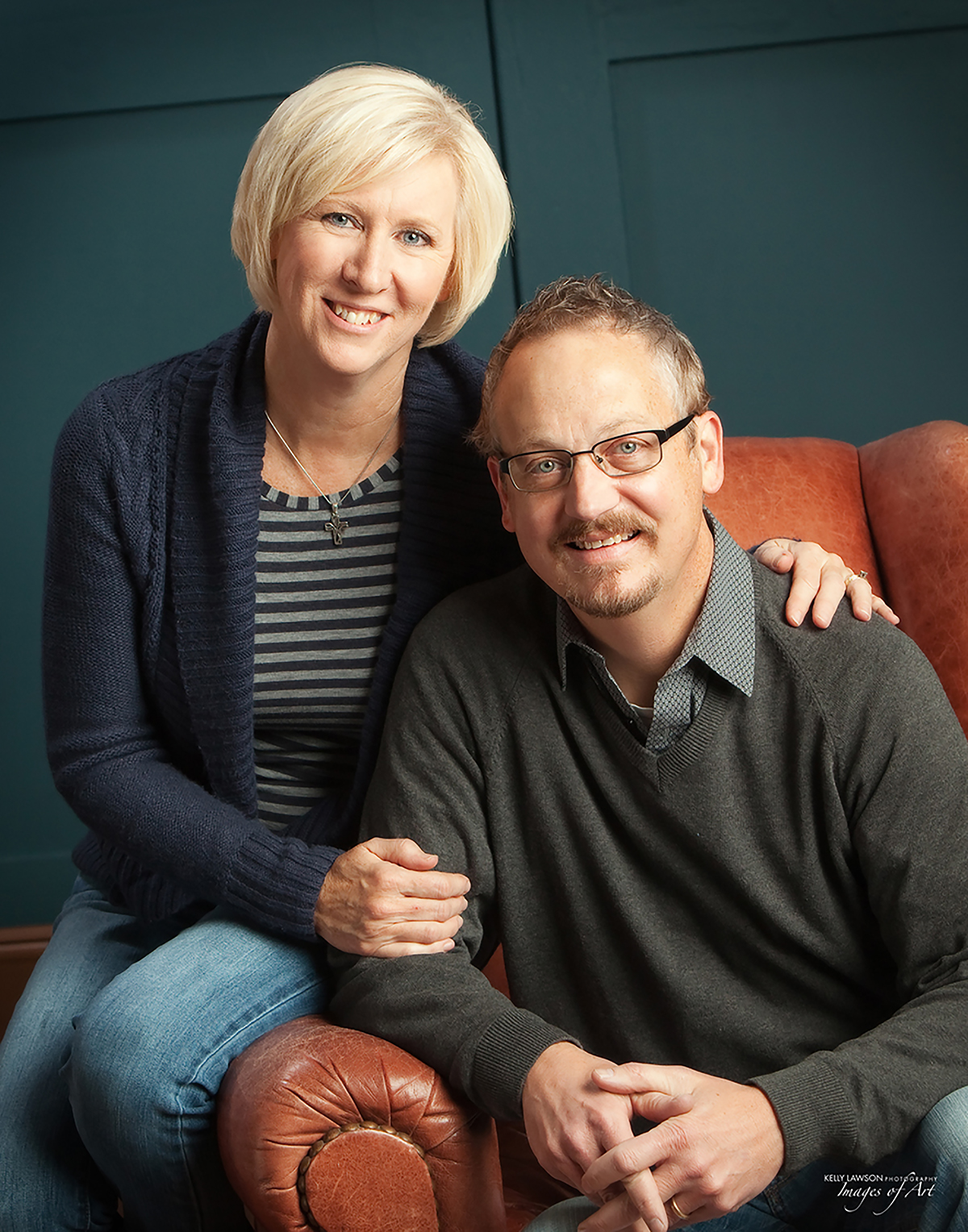 God's Resort Executive Director Jay St Clair with his wife, Resident Care Director Julie St. Clair.