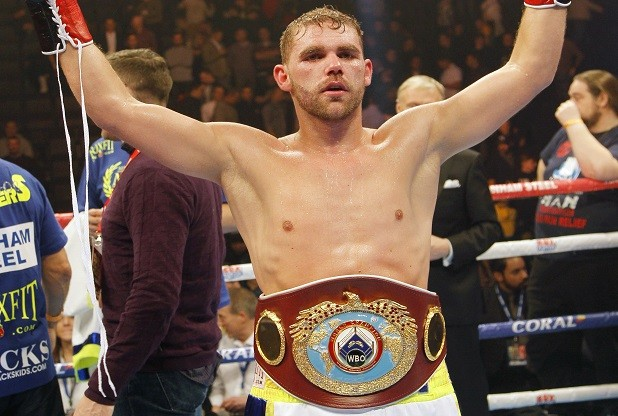 Billy Joe Saunders after his big win over Andy Lee.