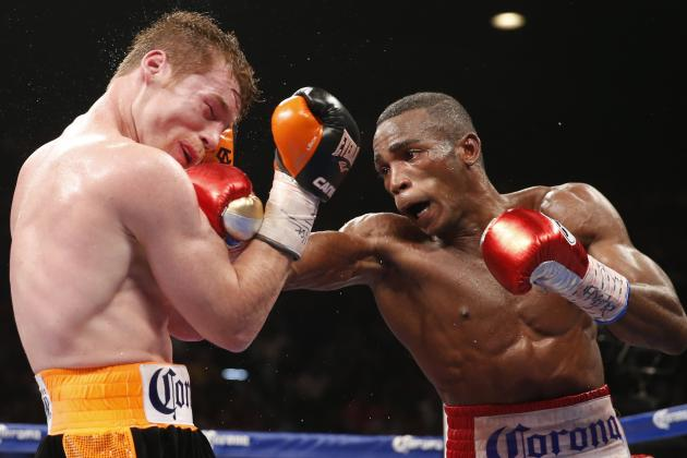 Many ringside observers believe Lara beat Canelo Alvarez in what became a highly debated topic in boxing circles. Photo Credit:  Eric Jamison/Associated Press