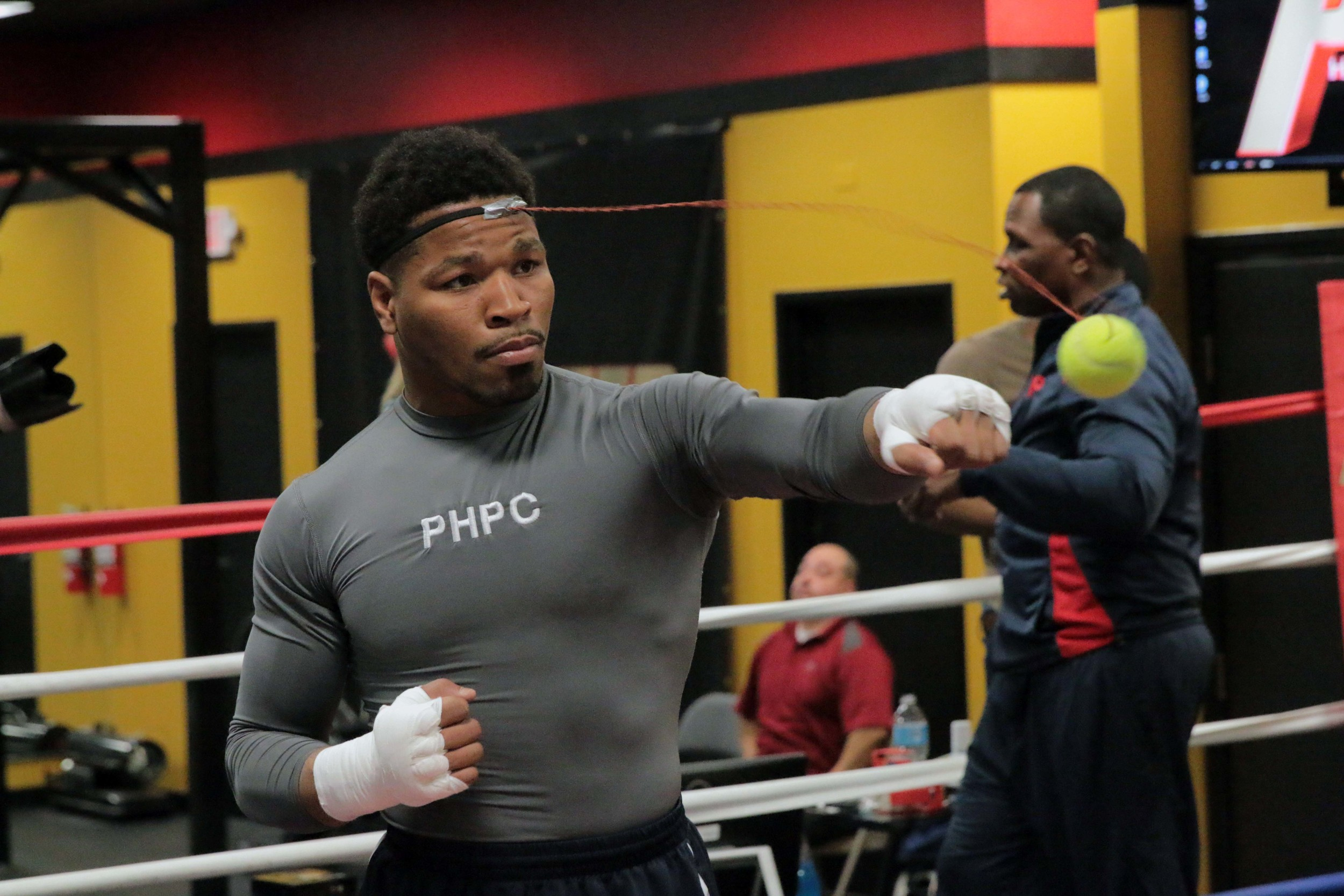Shawn Porter prepares for his clash with Keith Thurman March 12 on CBS. Photo credit: Premier Boxing Champions