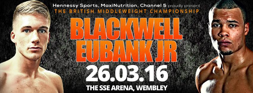 Chris Eubank Jr. is set to take on Nick Blackwell