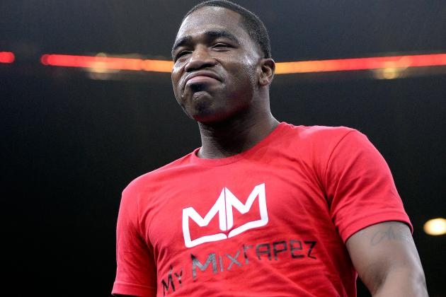 Adrien Broner in trouble once again. This time it sounds serious. Photo Credit: Harry How/Getty Images