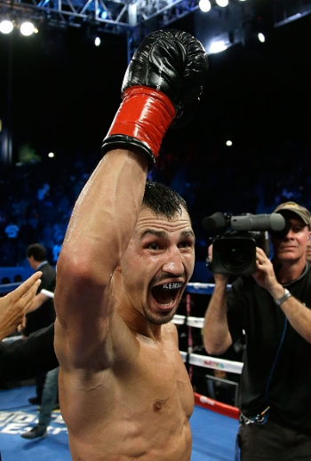 Viktor Postol is considered one of the best in the division can he beat Terence Crawford? Photo Credit: Jeff Gross/Getty Images