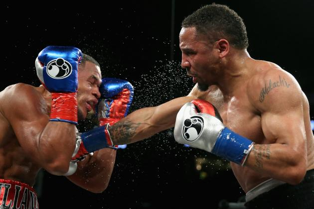Andre Ward was dominate in his light heavyweight debut despite his recent layoff. Photo Credit: Ezra Shaw/Getty Images
