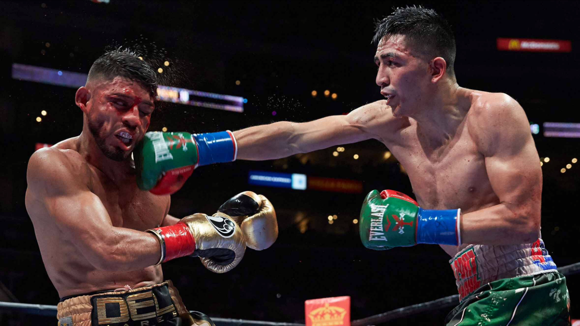 Leo Santa Cruz will face Carl Frampton on July 30th and Abner Mares will face Jesus Cuellar on June 25th. The winner of either bout would be exciting fights for Vasyl Lomachenko. Photo: Suzanne Teresa/Premier Boxing Champions.