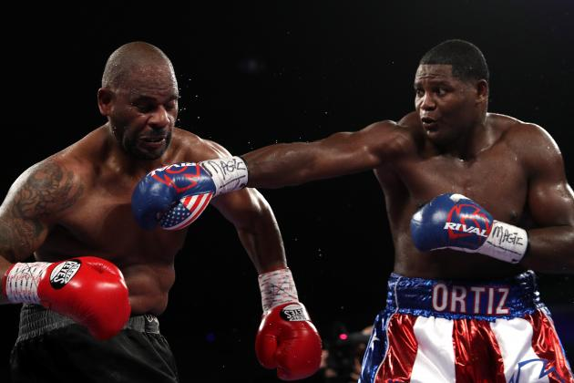 Luis Ortiz in his last fight against Tony Thompson. Photo: Patrick Smith/Getty Images