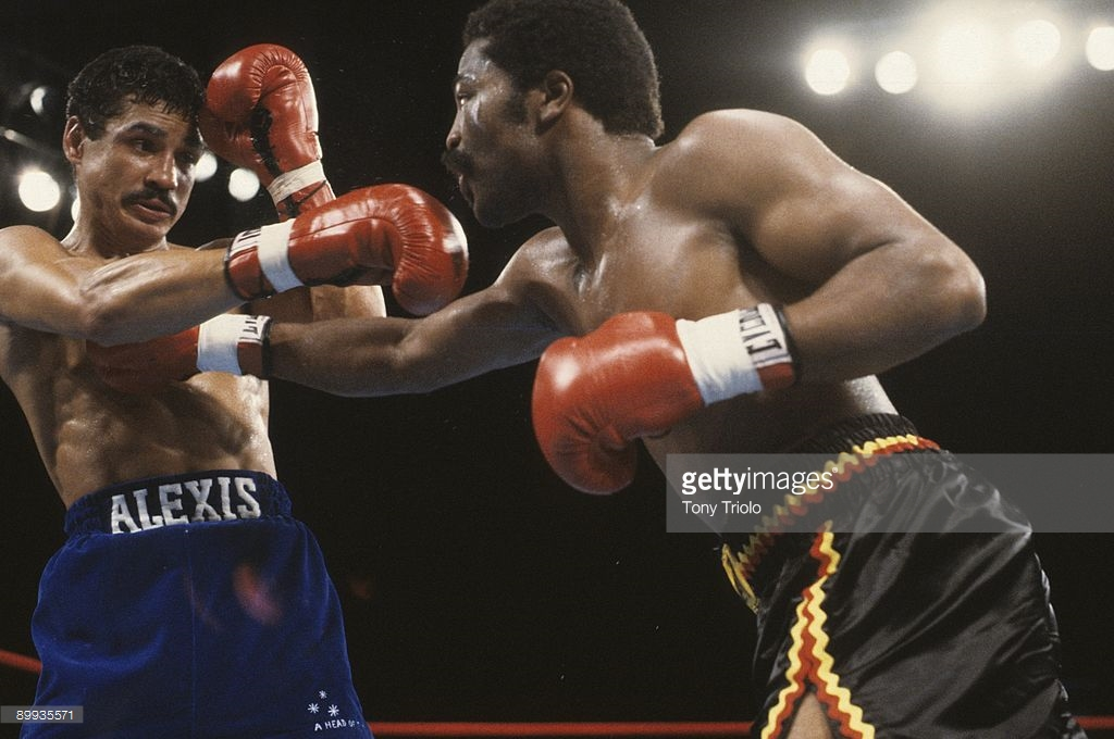 Alexis Arguello and Aaron Pryor in their 1982 classic. Photo: Tom Triolo/Getty Images