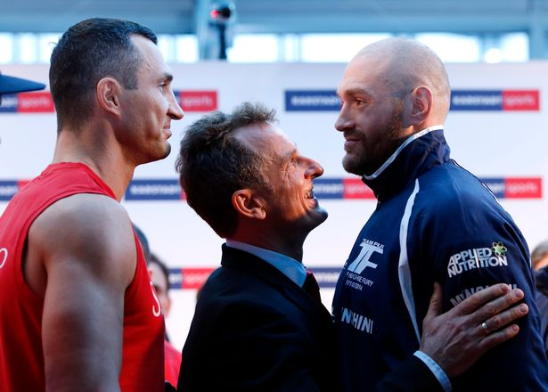 Wladimir Klitschko's cancelled rematch against Tyson Fury opened the door to a showdown with Anthony Joshua. Photo: Lee Smith/Action Images via Reuters