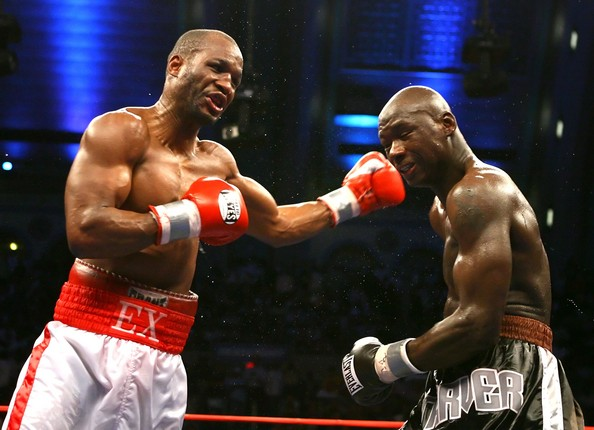 Bernard Hopkins lands a left hook on Antonio Tarver. Photo: Al Bello/Getty Images