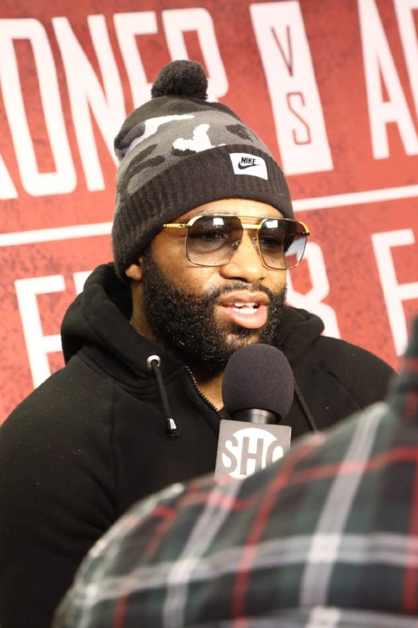 Adrien Broner speaks on his upcoming fight against Adrian Granados. Photo credit:  Ian Bedgood/About Billions