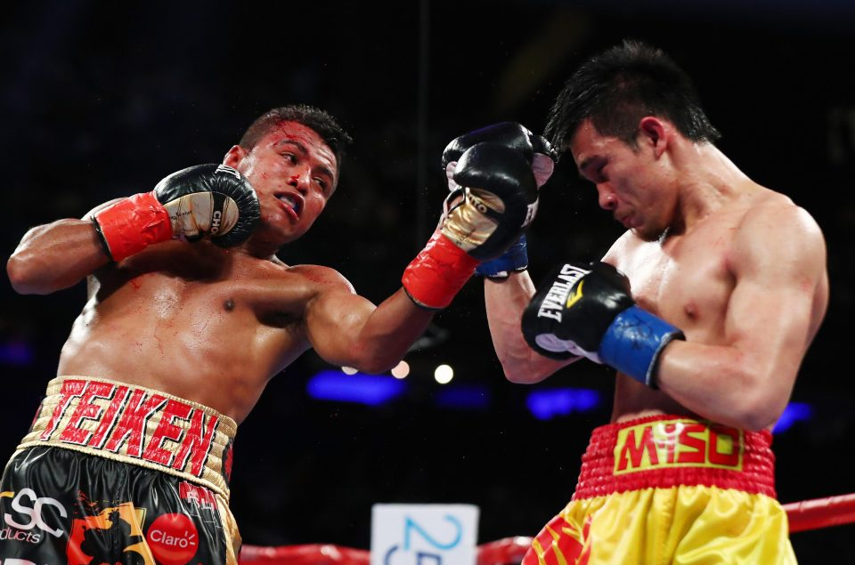 Roman Gonzalez lost his WBC 115-pound championship to Srisaket Sor Rungvisai by controversial majority decision last Saturday. Photo: Getty Images
