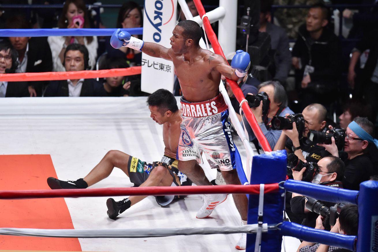 Jezreel Corrales upset Takashi Uchiyama twice in 2016 to win the WBA 130-pound championship. Photo: Atsushi Tomura/Getty Images