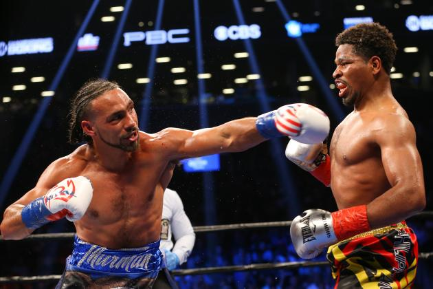 Shawn Porter lost a unanimous decision to Keith Thurman in June 2016. Photo: Ed Mulholland/Getty Images