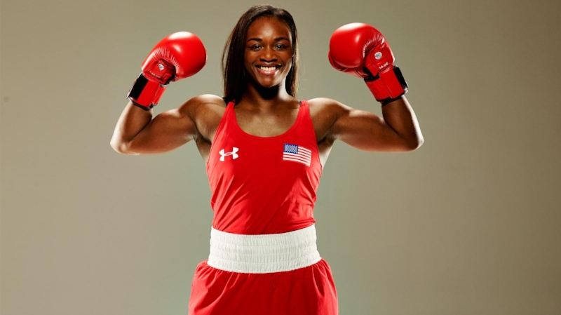 Claressa Shields has the opportunity to become world champion in only her fourth professional bout with a win over current champion Nikki Adler. Photo Credit: NBC Sports