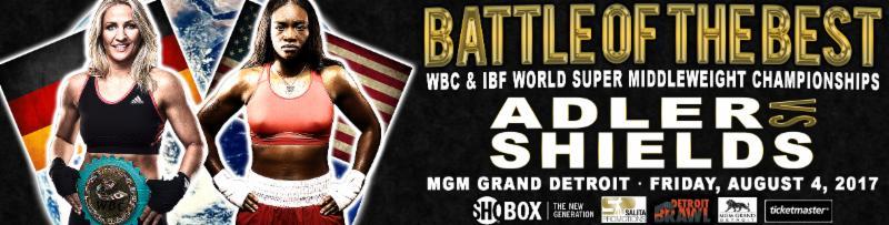 Claressa Shields Vs. Nikki Adler Boxing