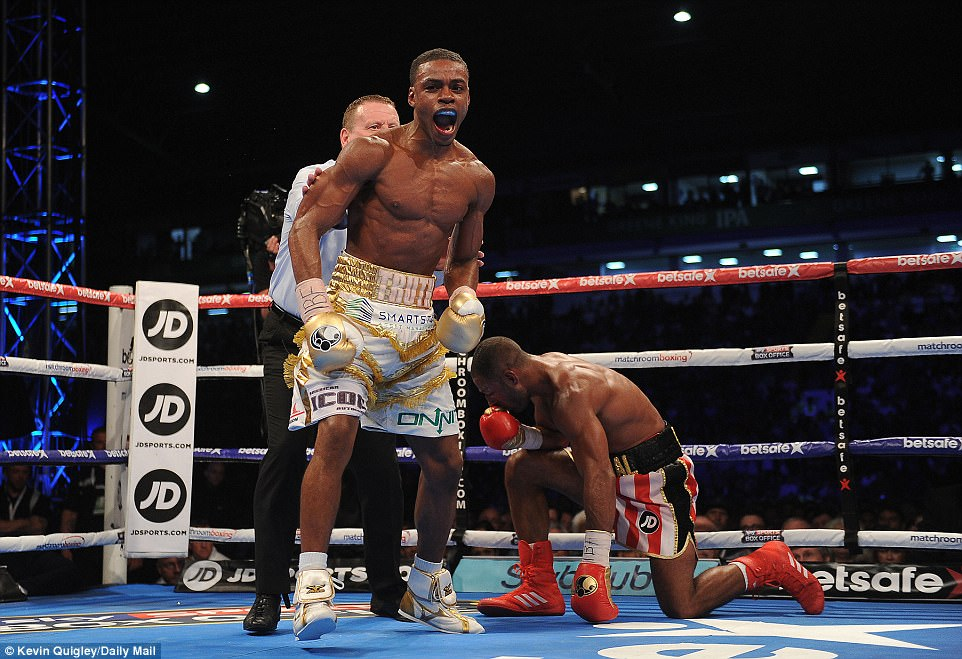 Errol Spence Jr. won the IBF welterweight championship in May when he defeated Kell Brook. Photo: Kevin Quigley/Daily Mail