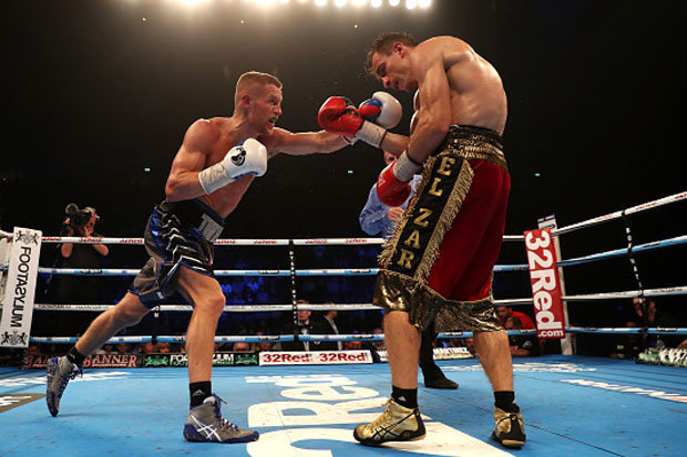 Terry Flanagan won a unanimous decision over Petr Petrov to retain his WBO lightweight championship this past April. Photo: Getty Images