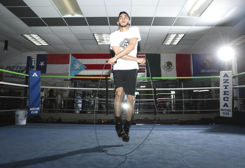 Alex Saucedo. Photo: Mikey Williams/Top Rank
