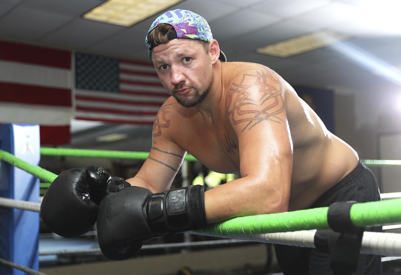 Trey Lippe Morrison. Photo: Mikey Williams/Top Rank