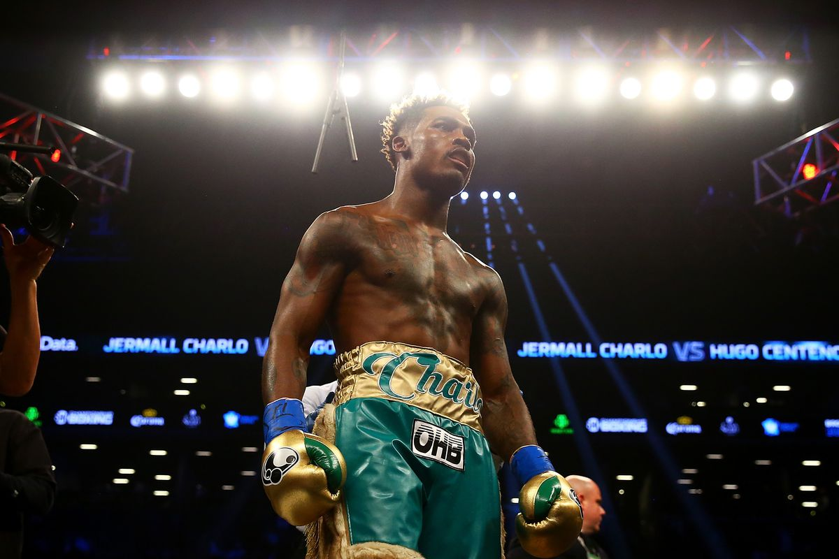 Jermall Charlo became the interim WBC middleweight champion by stopping Hugo Centeno Jr. in the second round this past April. Photo: Mike Stobe/Getty Images