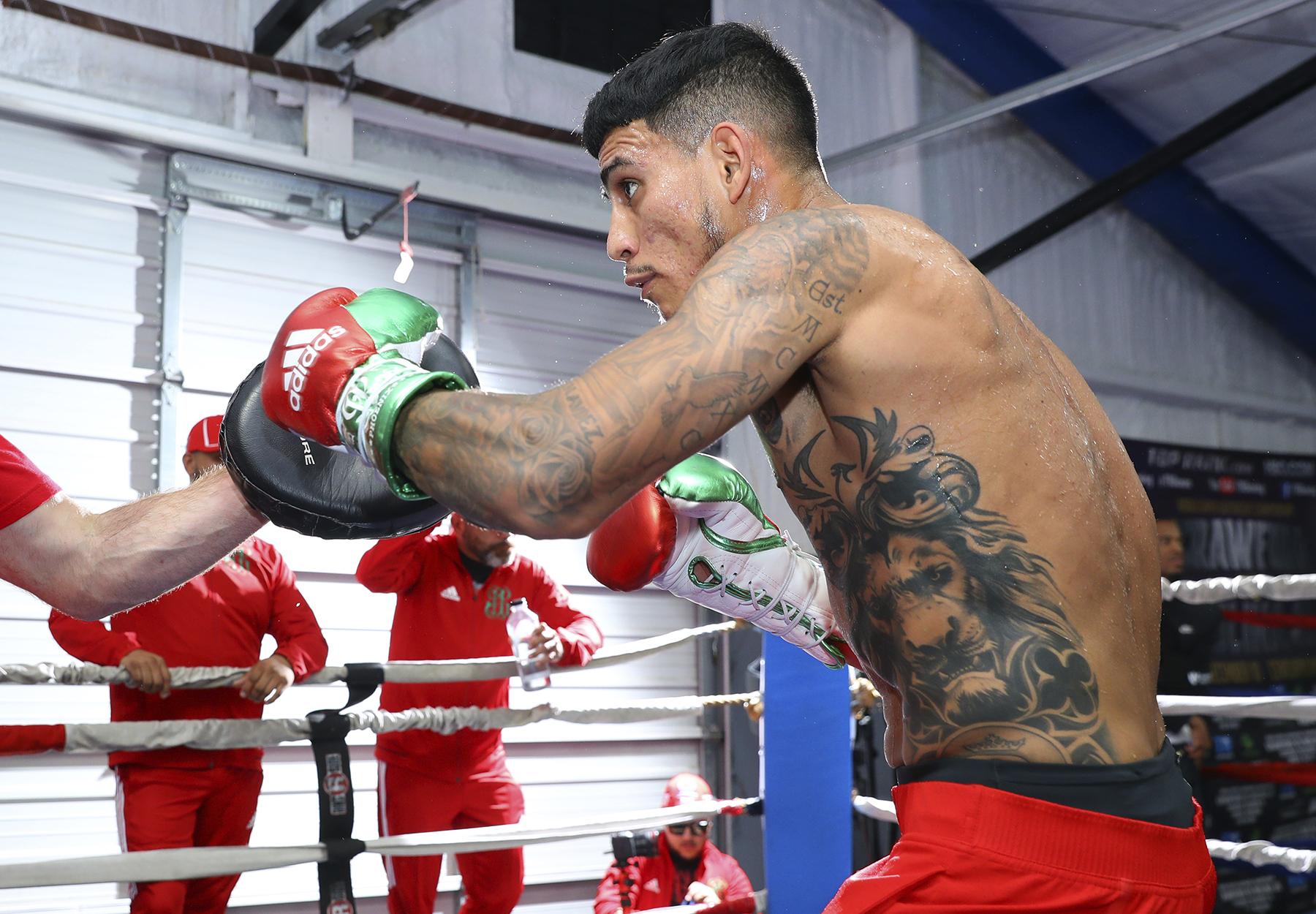 Jose Benavidez Jr. Photo: Mikey Williams/Top Rank