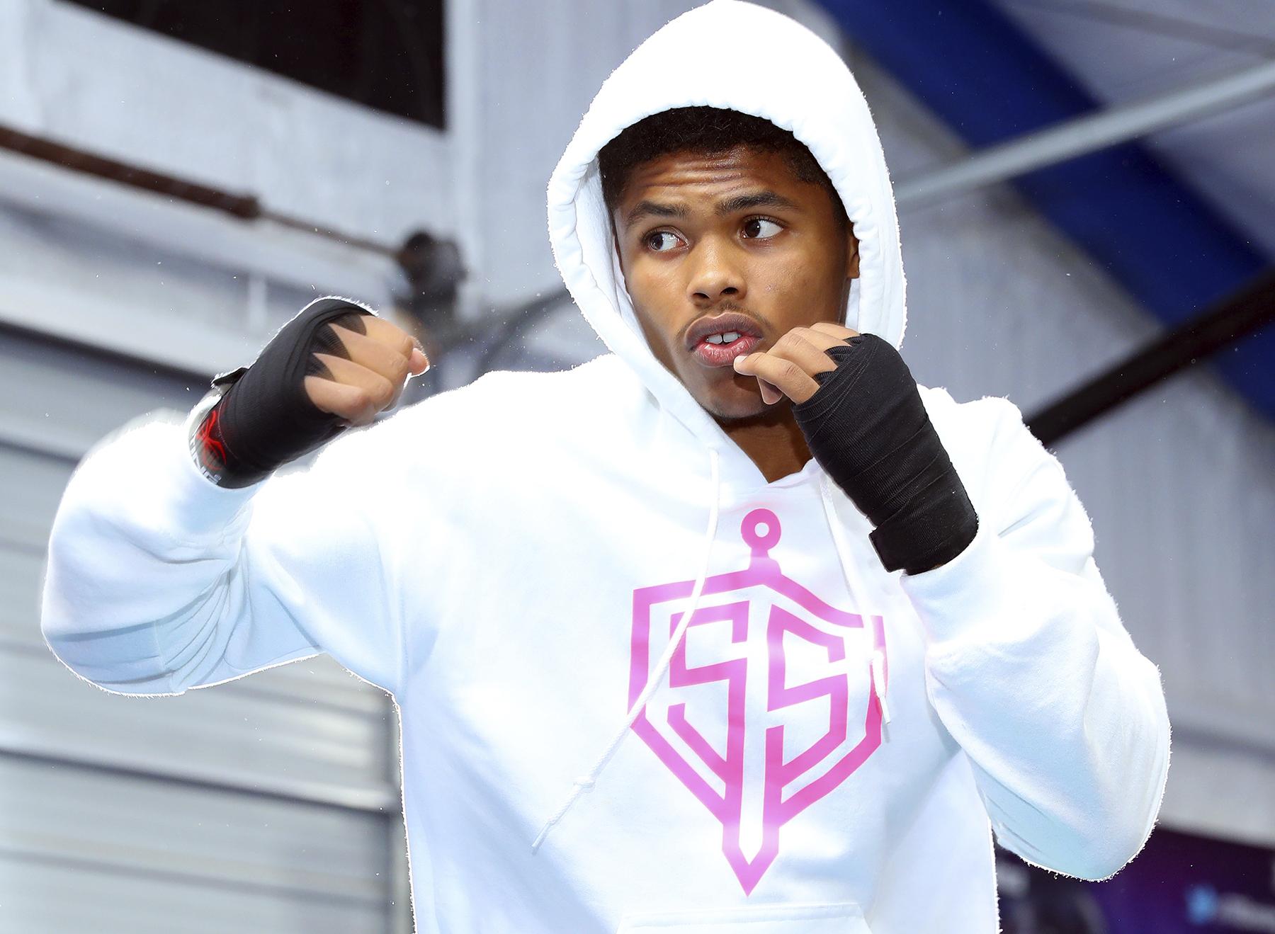Shakur Stevenson Boxing