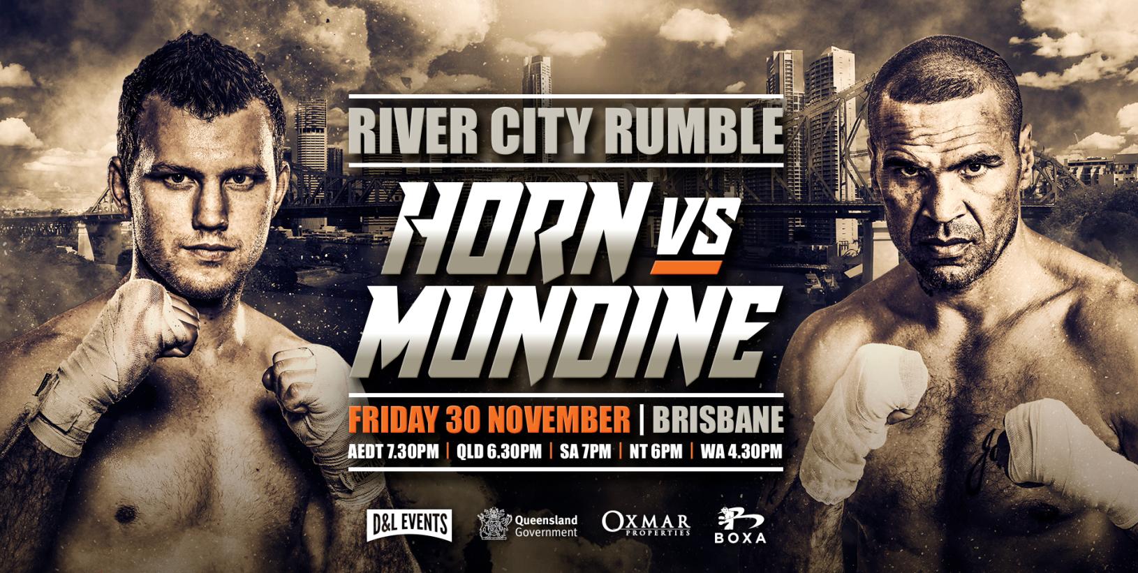 Jeff Horn Anthony Mundine Boxing