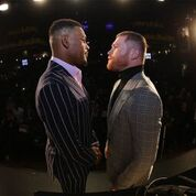 Canelovs.Jacobsis a 12-round fight for the WBC,WBA,Lineal,RingMagazineand IBF Middleweight World Titles   -