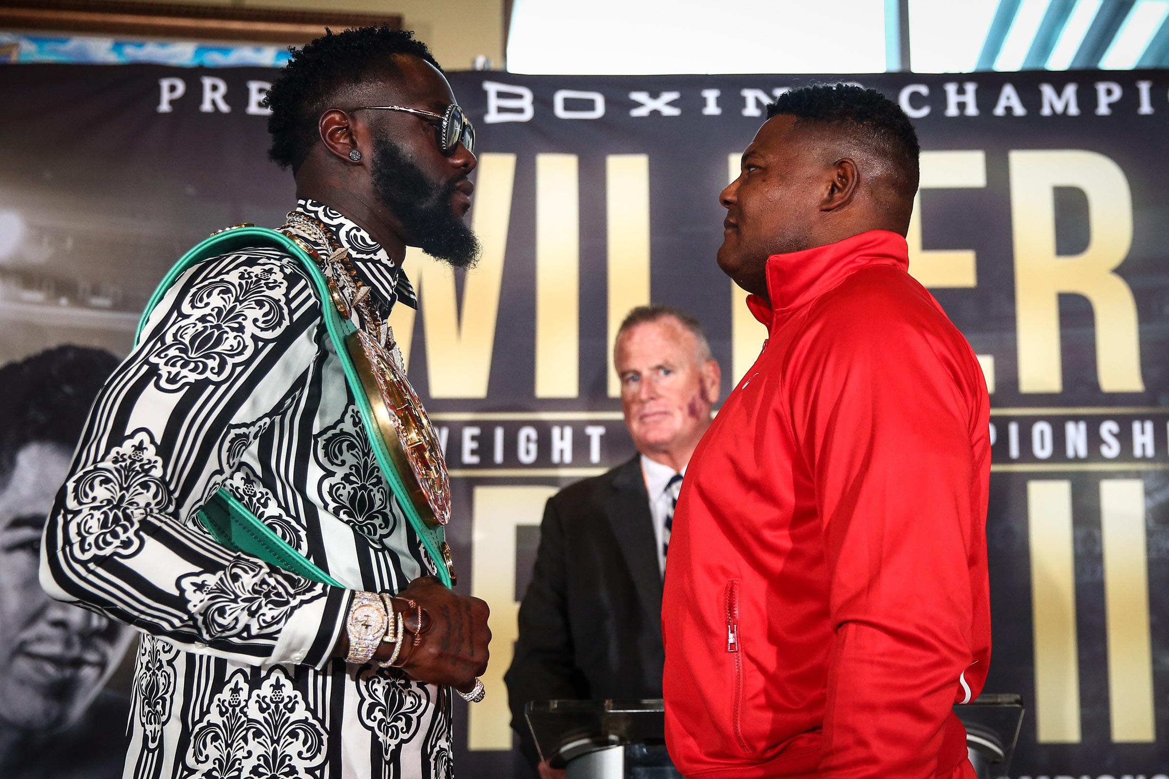 Deontay Wilder Luis Ortiz Boxing