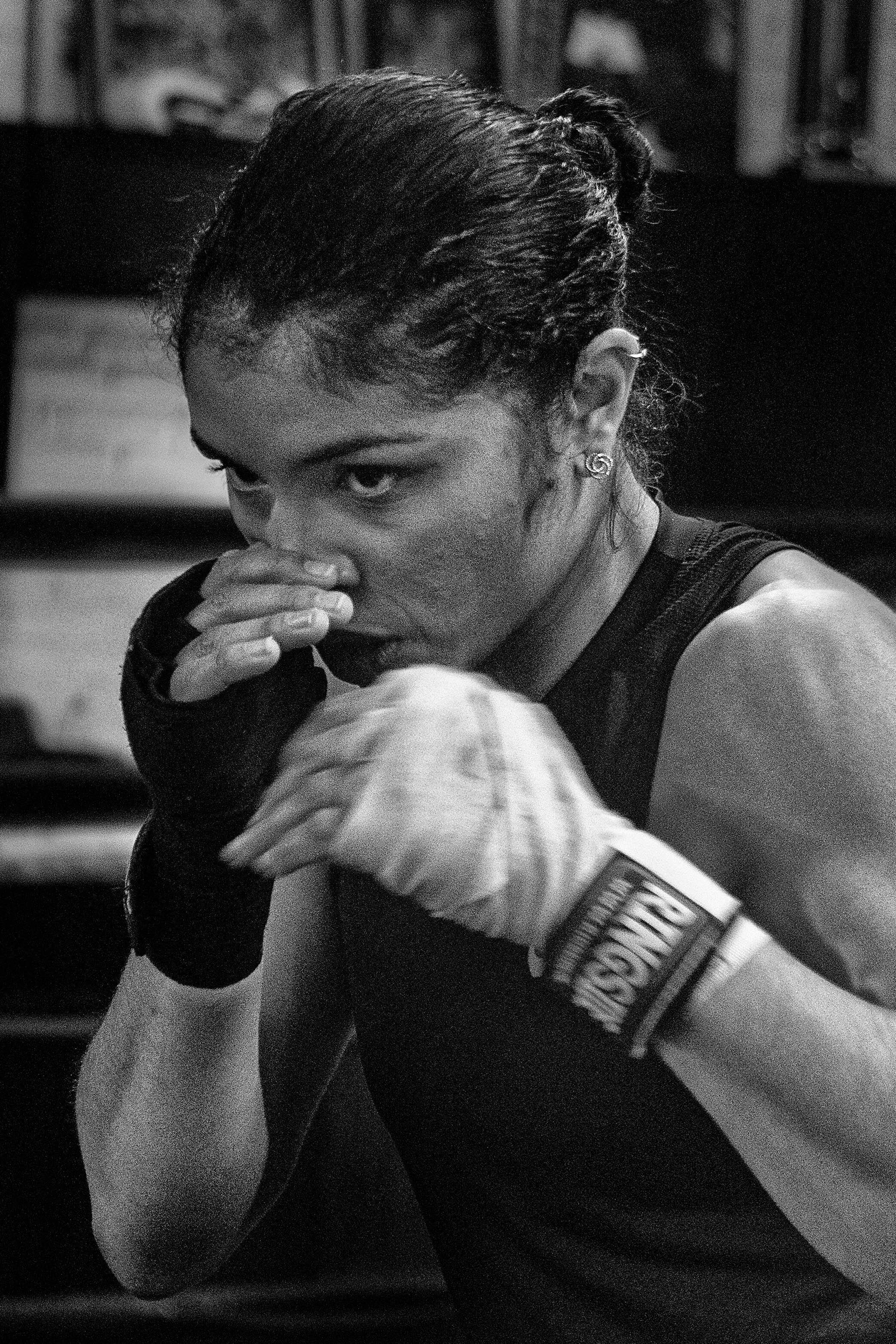 Jessica McCaskill Boxing