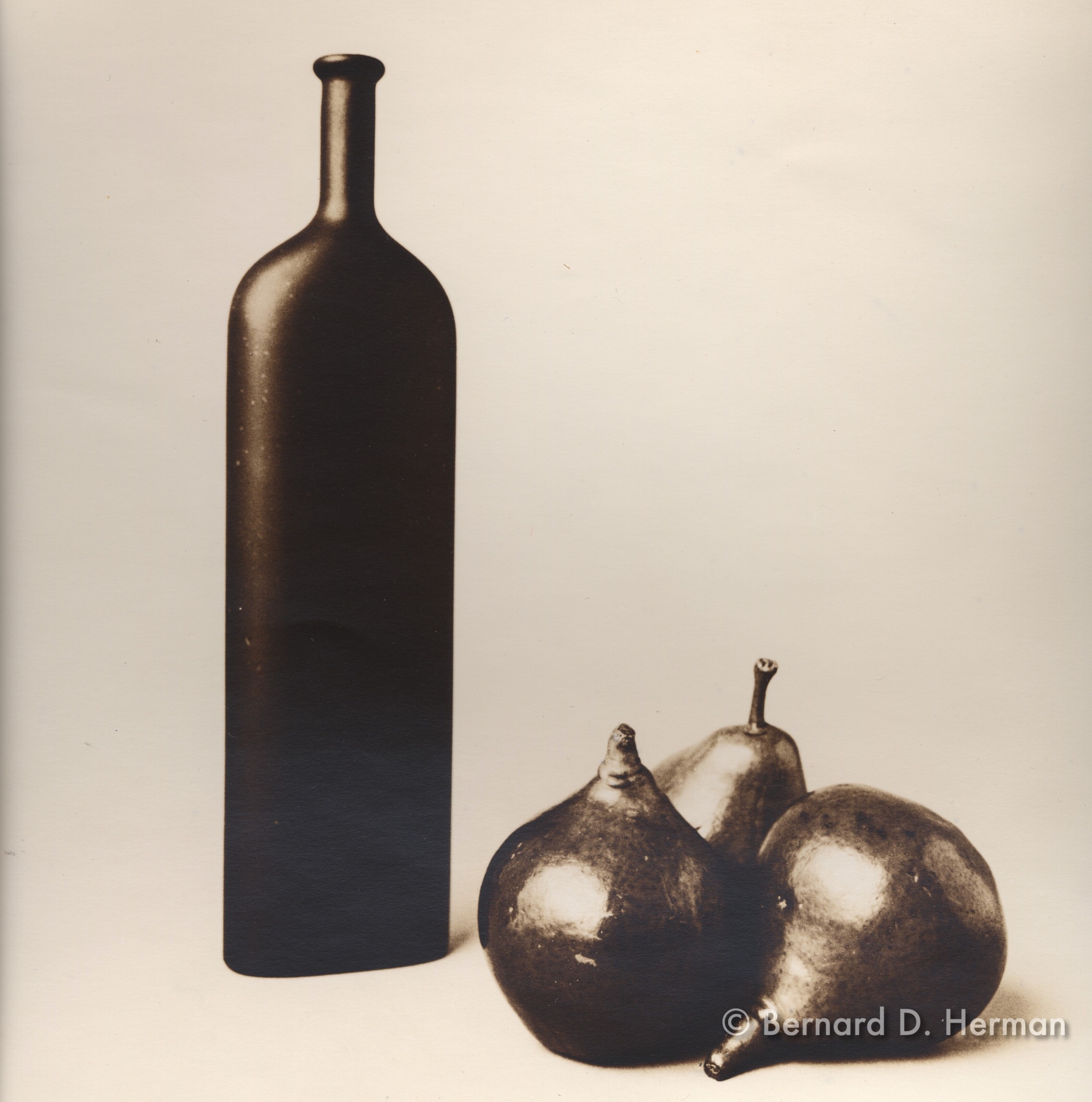 Pears and Bottle