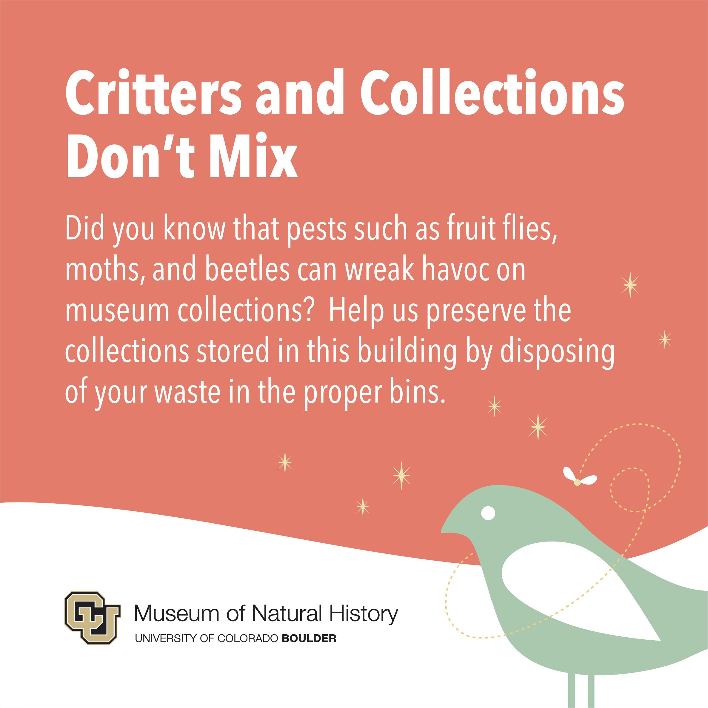 Informational Sign  University of Colorado Natural History Museum Adobe Illustrator