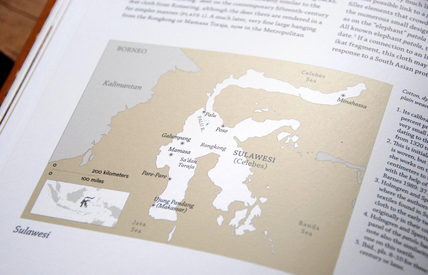 Map of Sulawesi  Adobe Illustrator
