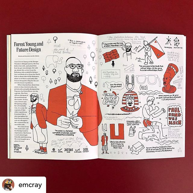 RePosted @withrepost • @emcray Blanta® / lovely work by @ben_weeks for Live Magazine (@frontier.is × @rgdhub) #DesignThinkers #TO #context