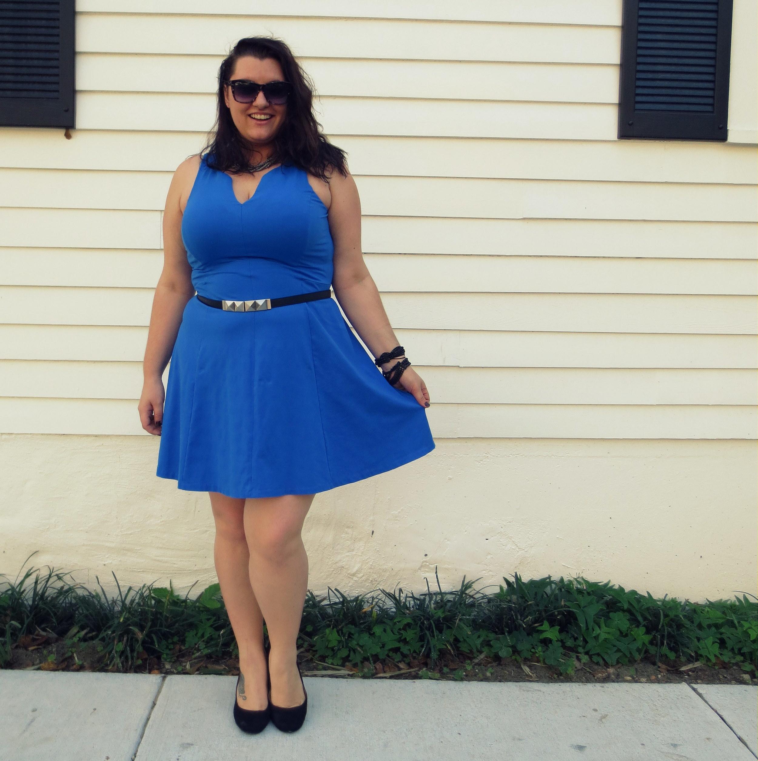 Blue Dress Bandelettes