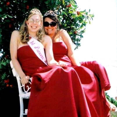 All American Moment circa 2004: I was an Applefest princess in my small town and spent a summer riding in parades through quintessential small town, Midwest America.