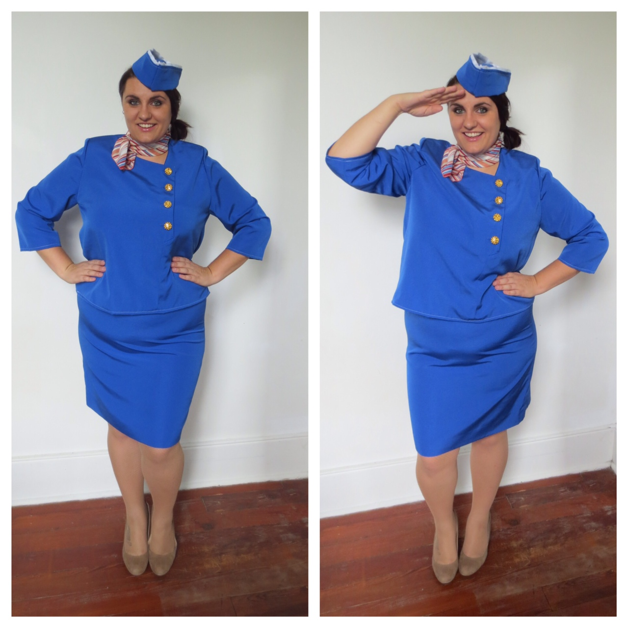 Retro Flight Attendant