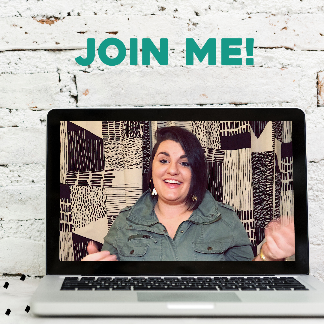 join me for big, bold confidence