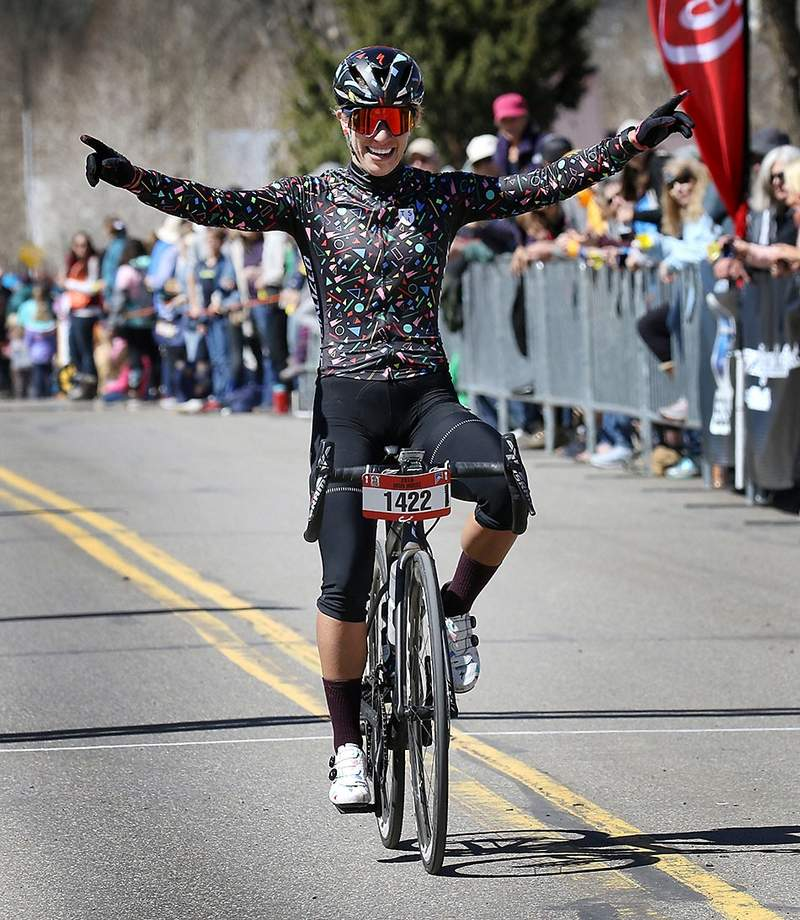 Sarah Sturm won the Women's Road Race — taking home equal payout for the first time in the race's history.