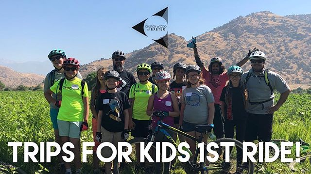 The first ride our our new ministry, Trips for Kids, is in the books! Great trip today with kids from the church and from the community. Big shot out to our Directors, Ride Leaders, and donors for making this possible!