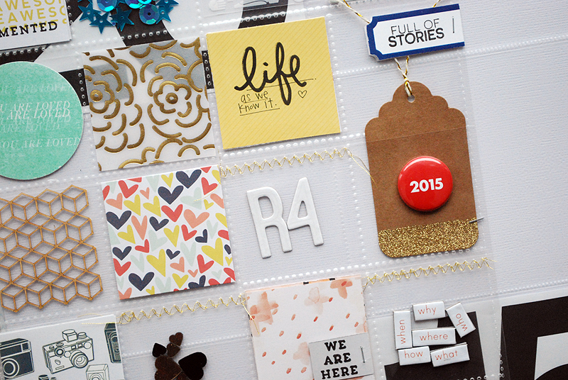 Project Life 2015 : Opening Page + A New Approach