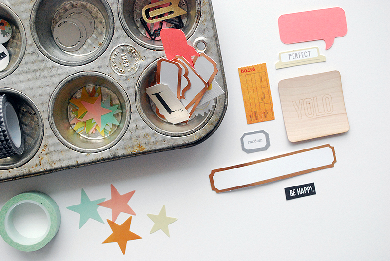 Building a mini book kit from my stash | Nicole Reaves