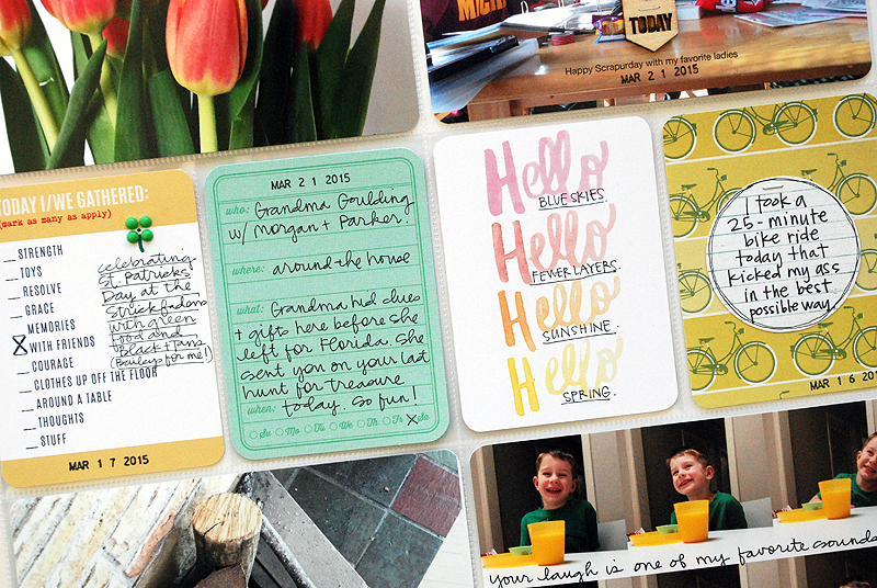 Project Life : Weeks 11 + 12 | Nicole Reaves