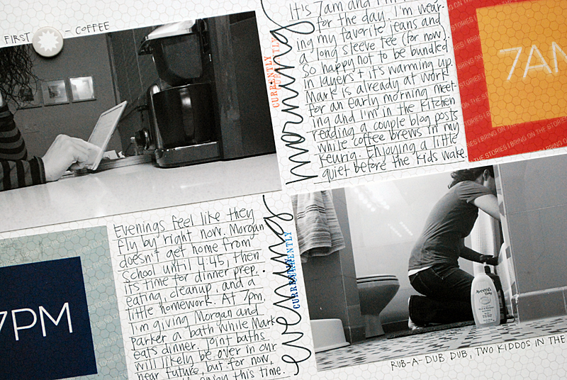50 Layouts : April | Nicole Reaves