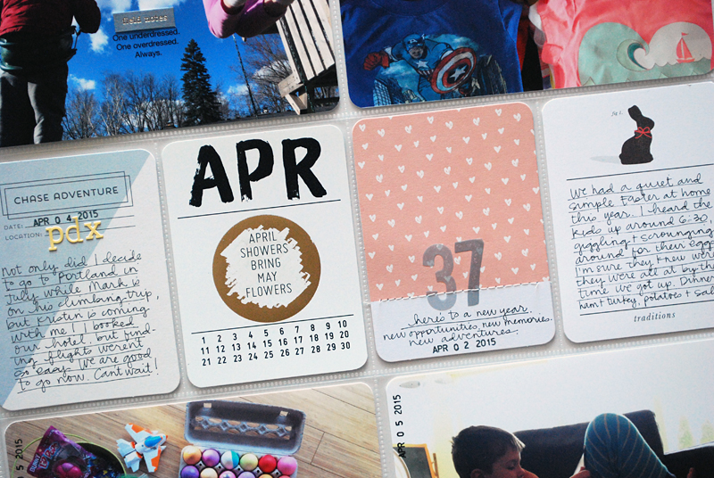 Project Life Weeks 13 + 14 | Nicole Reaves