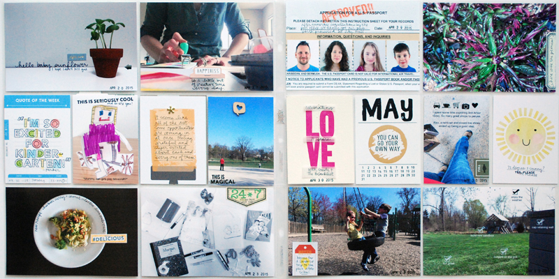 Project Life Weeks 17 + 18 | Nicole Reaves