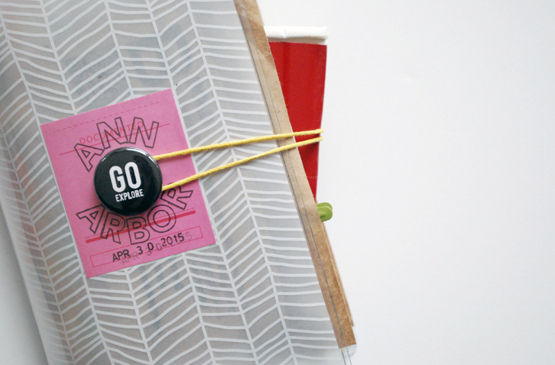 Ann Arbor Mini Book   Nicole Reaves