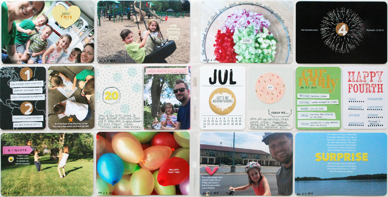 Project Life Weeks 26 + 27 | Nicole Reaves