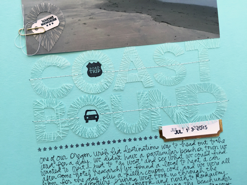 50 Layouts : October | Nicole Reaves