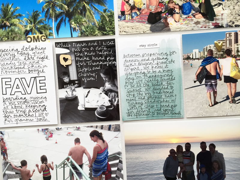 Project Life : Thanksgiving in Naples | Nicole Reaves